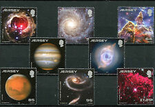 Jersey 2015 MNH Hubble Space Telescope 25 Yr 8v Set Stars Planets Nebulas Stamps