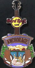 Hard Rock Cafe ANCHORAGE 2014 Core City Tee T-Shirt GUITAR PIN Card V14 HRC New!