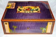 Elie Bleu  Alba Purple  Humidor 75 Ct new in the original box