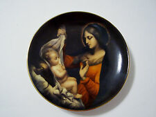 "TBN Limited Edition Plate of Jesus & Mary - Christmas 1998 4 1/8"" across"