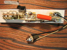 Wiring Harness for Telecaster - 1966 Style: CTS, 0.047 Orange Drop, Oak Grigsby