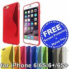 "Soft Gel TPU Silicone Back Cover Case for Apple iPhone 6S 6 4.7"" 6 Plus 5.5"" 6S+"
