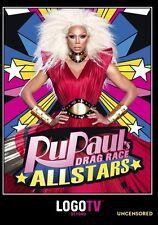 RuPaul's All Star Drag Race Uncensored ,Number of discs: 2,Studio: Log [NR/DVD]