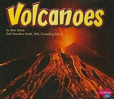 Volcanoes (Earth in Action)-ExLibrary
