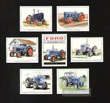 Fordson Tractors 5000 6Y Roadless Ploughmaster 65 E27M E1A New Major Trade Cards
