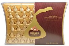 Hershey's KISSES Deluxe Hazelnut Center Chocolate Gift Box 50 count