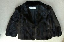 Mink Coat (Blackglama Dark Ranch) - Beautiful and Excellent Condition