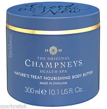 Champneys Spa As-Good-As-New Nature's Treat Nourishing Body Butter Cream 300ml