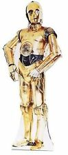 Star Wars C3Po R2D2 Robot Movie Wookie Lifesize Standup Cardboard Cutout 114