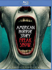 NEW!!! American Horror Story: Freak Show (Blu-ray Disc, 2015, 3-Disc Set)