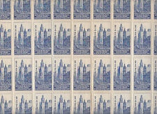 Stamps 1950 Australia ANPEX Exhibition cinderella Melnbourne sheet of 40 MUH