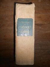 Dictionnaire des POSTES & TÉLÉGRAPHES (PTT) Communes de FRANCE + ALGÉRIE - 1913