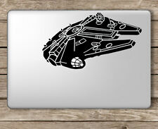 Millennium Falcon Star Wars - Apple Macbook Laptop Vinyl Sticker Decal