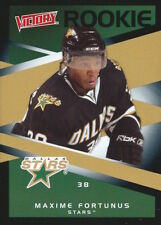 (HCW) 2010-11 Victory Black MAXIME FORTUNES Rookie /5 **SSP** Dallas Stars 00902