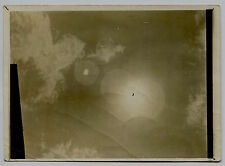 Photo E. Bruchon - Eclipse Solaire - Sun - 1909