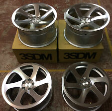 "18""  3SDM 0.06 ALLOY WHEELS STAGGERED 5X100 FITS VW GOLF MK4 AUDI TT MK 1 S3"