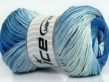 Lot of 4 x 100gr Skeins Ice Yarns CAMILLA COTTON MAGIC (100% Mercerized Cotto...