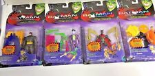 2000 HASBRO BATMAN BEYOND RETURN OF THE JOKER  4 PIECE FIGURE SET GOTHAM F19