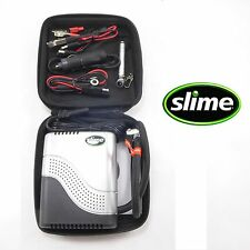 Slime Tire Inflator Air Compressor 12 Volt Motorcycle Emergency Victory Buell