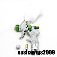 1.0mm Mini DETAIL TOUCH-UP HVLP SPRAY GUN Auto Car Paint Spot Repair Plastic Cup