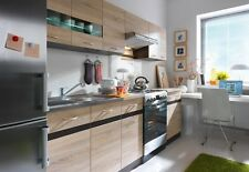 Cheap kitchen units / cabinets . Complete set 7 units. Worktops, doors, handles.