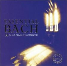 ESSENTIAL BACH - 36 Masterpieces, 2 CD Set, Decca, NEW