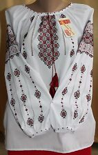 Ukrainian Embroidered Blouse Vyshyvanka embroidery