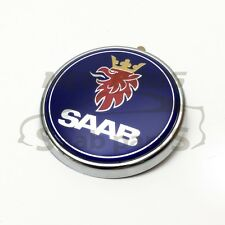 SAAB 9-3 CONV / ESTATE 04-12 & SALOON 08-12, BOOTLID BADGE EMBLEM, NEW, 12844160
