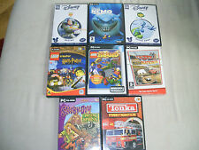DISNEY CLASSICS LEGO TONKA TOY STORY 2 BUGS LIFE 8 GAME BUNDLE PC CD ROM
