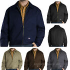Mens Dickies Work Jackets Lined EISENHOWER Jacket TJ15 Pockets Colors S - 5XL