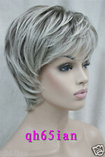 LADIES WIG (7 colors) Short Curly Women Cosplay Party Curly Wigs + Free WIG