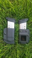 SW M&P Shield 9/40 IWB/OWB Kydex mag pouch/Holster with Retention Adjustment