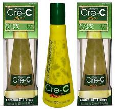 2 Cre-C Max Shampoo & 1 Conditioner / Contra La Caida Del Cabello 8.46 Oz /250ml