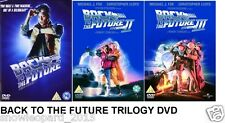 BACK TO THE FUTURE TRILOGY DVD SET TRIPLE PACK PART 1 2 3 ALL Movie Film box New