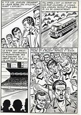 FINALE DE COUPE FOOTBALL (ROBERT HUGUES) PLANCHE ORIGINALE PILAR SANTOS PAGE 19