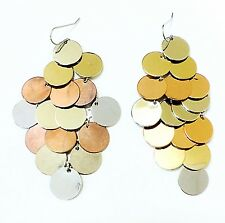 Tri Color Shoulder Duster Grapes Women's Fashion Earrings