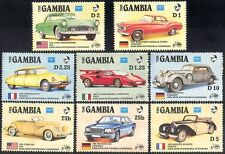 Gambia 1986 Classic Cars/Transport/Motors 8v set s4229