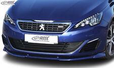 Rdx Front Becquet vario-x pour peugeot 308 (type L) GT/GTI