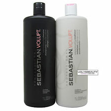 Sebastian Volupt Volume Boosting Shampoo and Conditioner 1 L / 33.8 fl. oz. Duo