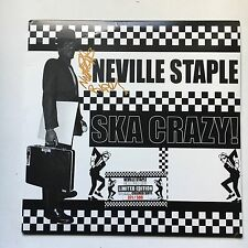 NEVILLE STAPLE - SKA CRAZY HAND SIGNED LP AUTOGRAPHED THE SPECIALS FUN BOY THREE
