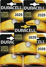 10 x PILAS BATERIAS DURACELL CR2025 3V LITIO Lithium Coin Cell Battery 2025