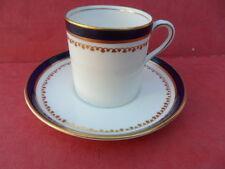 Aynsley vintage Cobalt Blue Coffee Cup & Saucer