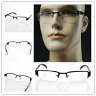 Bifocal Reading Glasses Black Frame Magnified Half-frame +1+1.5+2+2.5+3