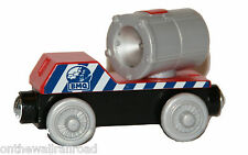 BMQ SEARCHLIGHT CAR Thomas Tank Engine Wooden Railway NEW Rusty Spotlight