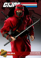 "Sideshow Ltd Ed Exclusive Version: GI Joe - 1/6 Scale RED NINJA 12"" Figure, NEW"