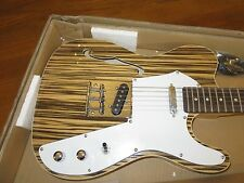 Thinline 1969 Tele Style Electric Guitar Semi Hollow body with Zebra Finish  stl