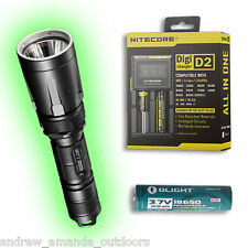 Nitecore SRT7 960 Lumens Flashlight w/D2 Charger & FREE 2600mAh Battery