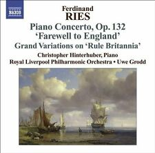 Ries: Piano Concerto, Op. 132 'Farewell to England' by Hinterhuber, Royal Liver