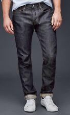NWT $108 Gap 1969 Premium Japanese Selvedge Slim Fit RAW Jeans, 34x30