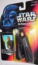STAR WARS power of the force LUKE SKYWALKER jedi knight red card moc potf 1996